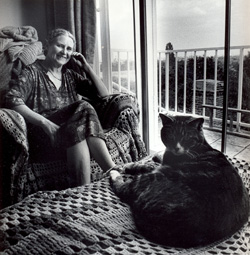 Doris Lessing and Cat Pal