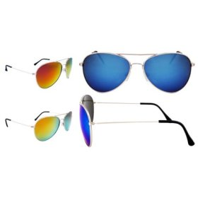 JiMarti Aviator Revo Style Mirrored Sunglasses
